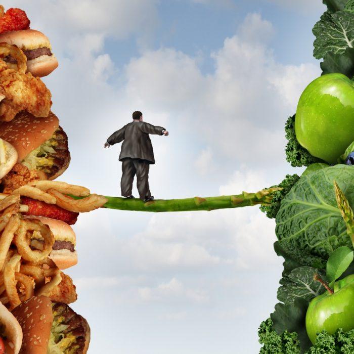 Está preparado para mudar os seus hábitos alimentares?